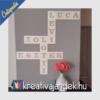 Kép 1/10 - Scrabble felirat családi felirat