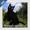 Kép 5/8 - fémből készült macska