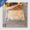 Kép 2/3 - Őszi leveles kirakó festhető házilag