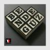Kép 24/27 - fekete-fehér feliratú fakocka fotózás