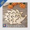 Kép 4/9 - dekorálható nagy süni fából