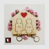 Kép 11/23 - fali kulcstartó pároknak