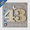 Kép 17/17 - NAGY FA SZÁMOK ÉS ÉKEZETES BETŰK