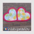 Puzzle szív kirakó
