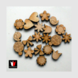 Pici fa figurák dekorációs csomag 20 db-os