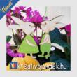 husvéti virág dekoráció