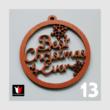 Karácsonyi dísz Best Christmas
