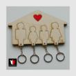lakásdekoráció kulcsoknak