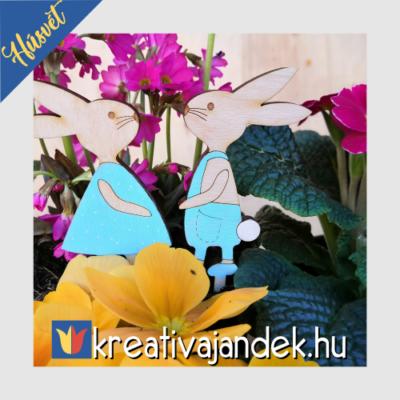 húsvéti virág dekor