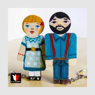 kulcstartó pároknak