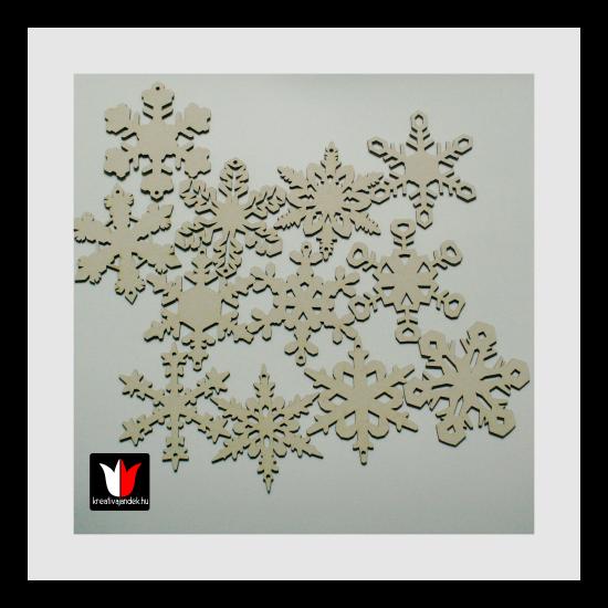 dekorálható hópelyhek