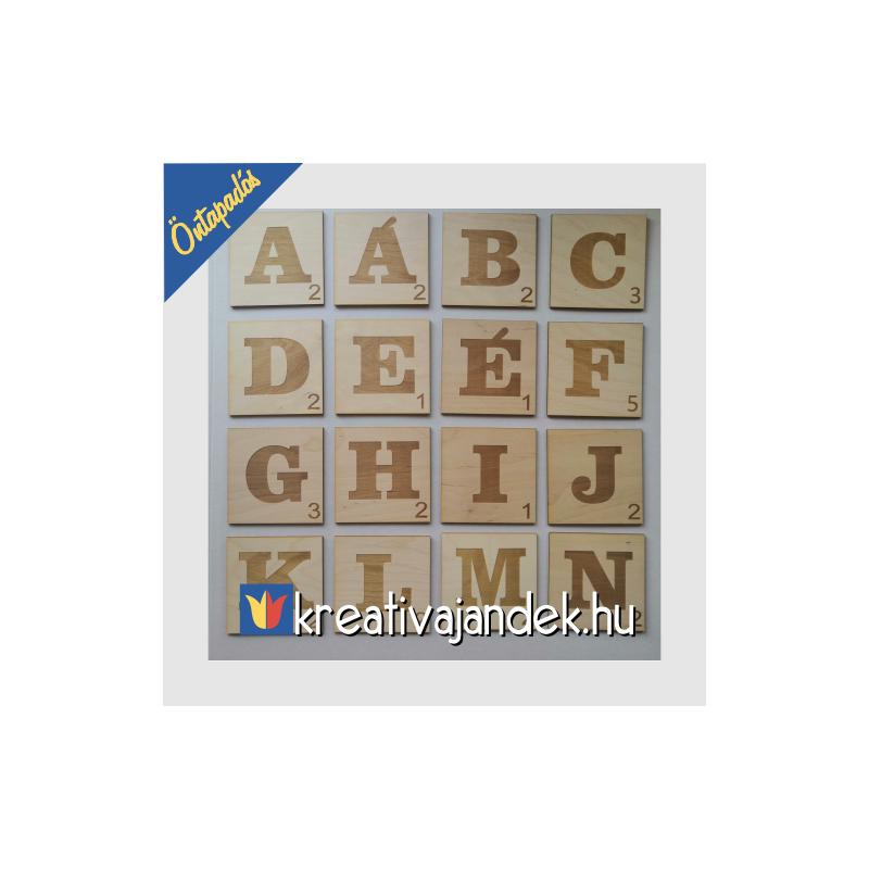 Faldekoráció ragasztható betűkkel