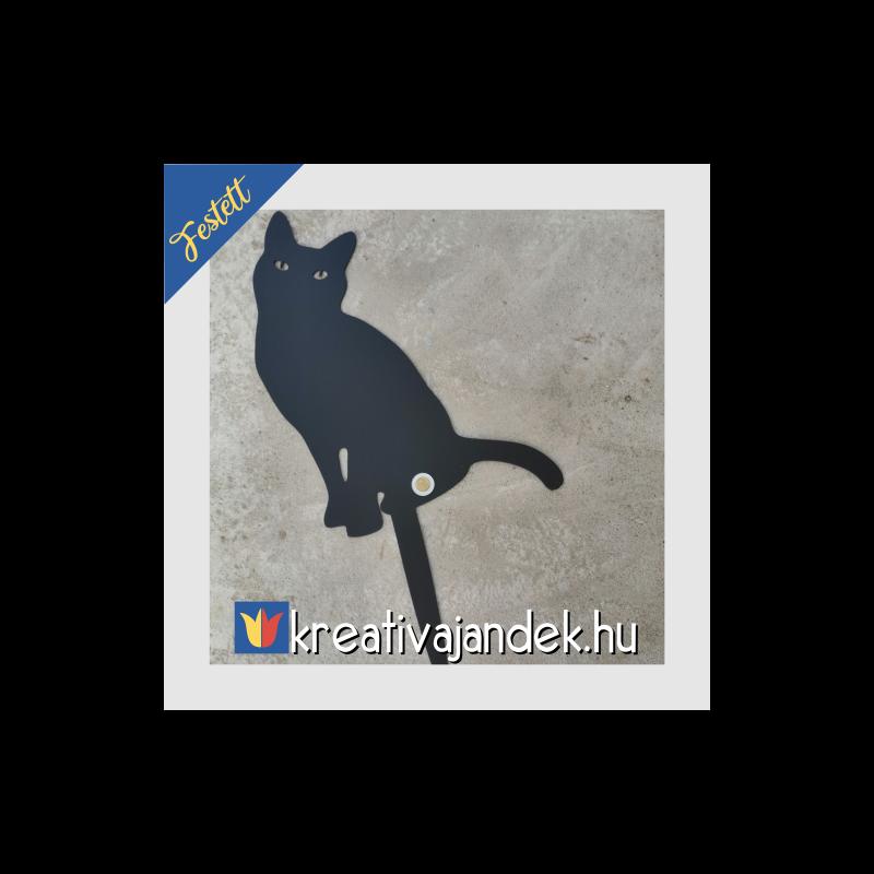 macskás kinti dekoráció