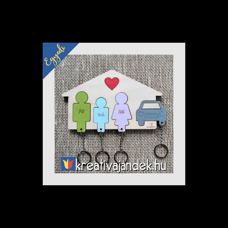 APA-FIÚ-ANYA-AUTÓ családi ajándék ötlet